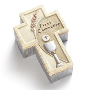 First Communion, Cross Rosary Box