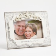 40th Anniversary Photo Frame, Blessed With a Life Of Love and Happiness