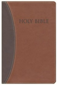 Imitation Leather Brown / Tan Book Thumb Index