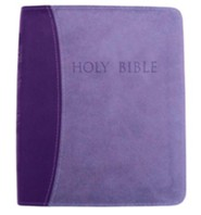 Imitation Leather Purple Book Thumb Index two-tone