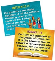 Answers Bible Curriculum Year 3 Quarter 3 Grades 1-6 Memory Verse Posters