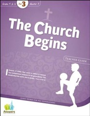 Quarter 3: The Church Begins
