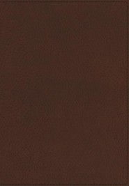 KJV Ultraslim Reference Bible, Imitation Leather, Toffee Indexed  -
