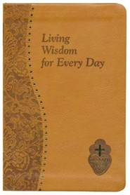 Living Wisdom for Every Day, Imitation Leather, Brown