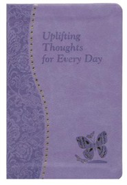 Uplifting Thoughts for Every Day, Imitation Leather, Purple