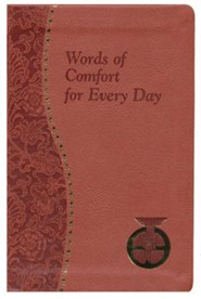 Words of Comfort for Every Day, Imitation Leather, Red