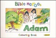 Bible Heroes: Adam - Colouring Book