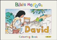 Bible Heroes: David - Colouring Book