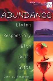 20/30 Bible Study for Young Adults: Abundance