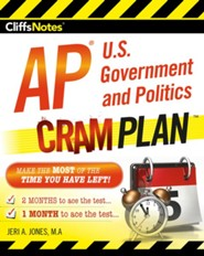 CliffsNotes AP U.S. Government and  Politics Cram Plan / New edition