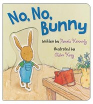 No, No, Bunny Board Book