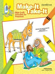 Bible-in-Life: Preschool Make It Take It (Craft Book), Summer 2018