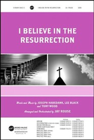I Believe in the Resurrection CD ChoralTrax