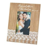 Love Each Other As I Have Loved You Photo Frame