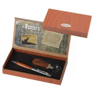A Hunter's Prayer Pen and Keyring Gift Set