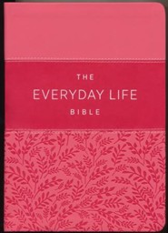 New Everyday Life Bible: The Power Of God's Word For Everyday Living, Imitation Leather, brown