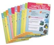 Answers Bible Curriculum Year 1 Quarter 2 Pre-K & K Extra Take Home Sheets (1 Student)