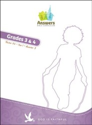Answers Bible Curriculum Year 1 Quarter 3 Grades 3 & 4 Teacher Kit