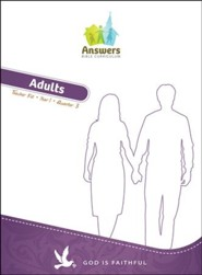 Answers Bible Curriculum Year 1 Quarter 3 Adult Teacher Kit