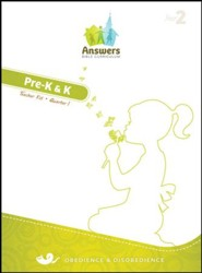 Answers Bible Curriculum Year 2 Quarter 1 Preschool Teacher Kit