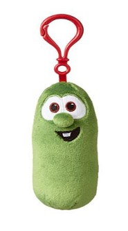 VeggieTales Backpack Clip, Plush Larry