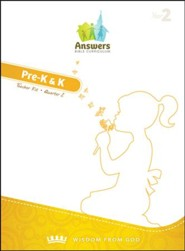 Answers Bible Curriculum Year 2 Quarter 2 Preschool Teacher Kit