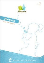 Answers Bible Curriculum Year 2 Quarter 4 Preschool Teacher Kit