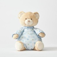 Plush Pajama Bear, Blue
