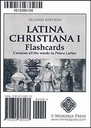 Latina Christiana Flashcards 1 (2nd Edition)