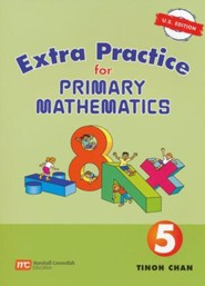 Singapore Math, Extra Practice for Primary Math U.S. Edition 5