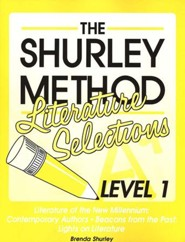 Shurley English Level 1 Literature Selections