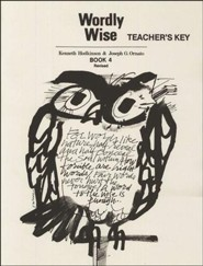 Wordly Wise, Book 4, Grade 7-Teacher's Key