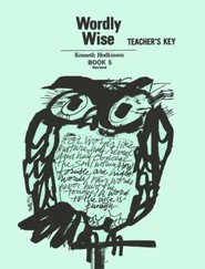 Wordly Wise, Book 5, Grade 8-Teacher's Key