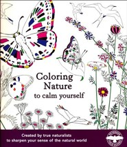 Coloring Nature to Calm Yourself  -