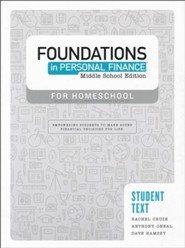 Foundations in Personal Finance: Middle School Student Text
