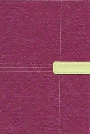 Imitation Leather Purple / Green Book