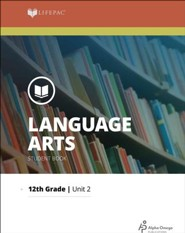 Lifepac Language Arts Grade 12 Unit 2: The Structure of Language