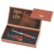 Man of God Pen and Keyring Set