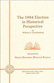 The 1984 Election in Historical Perspective