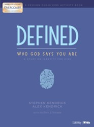 Defined: Who God Says You Are, Older Kids Activity Pages