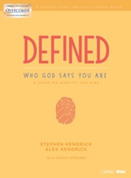 Defined: Who God Says You Are, Kids' Bible Study Leaders Guide