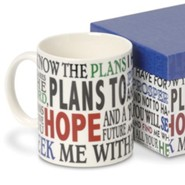 For I Know The Plans, Boxed Mug
