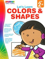 Spectrum Early Years Let's Learn Colors & Shapes