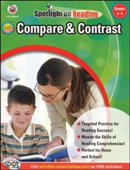 Spotlight on Reading: Compare & Contrast, Grades 3-4