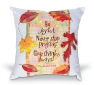 Give Thanks Pillow, 12 x 12