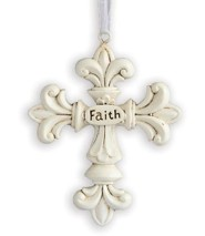 Faith, Decorative Cross Ornament