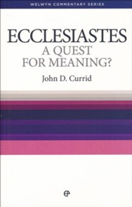Ecclesiastes: A Quest for Meaning (Welwyn Commentary Series)