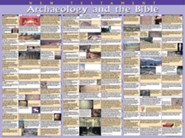 Archaeology & the Bible: New Testament, Laminated Wall Chart