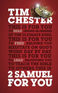 2 Samuel for You, Good Book Guide Bible Studies