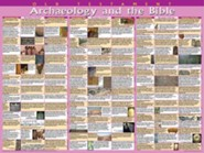 Archaeology & the Bible: Old Testament, Laminated Wall Chart